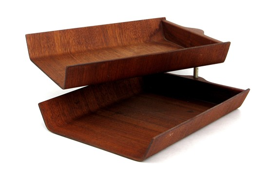 Vintage Knoll Letter Tray ...