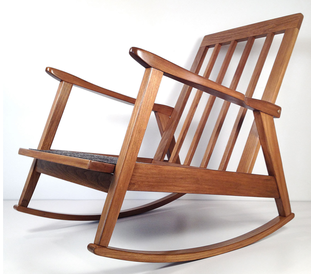 This Danish Modern Style Rocker Is One Of Our Finds From The Last Weekend  Trip To Cocoa/Melbourne. Itu0027s Completely Restored And Ready To Go!