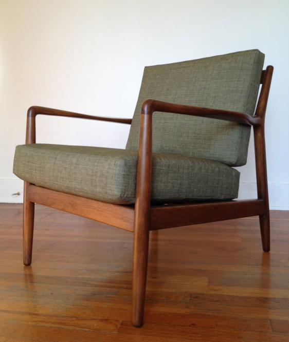 Vintage Danish Modern Teak Chest ▷ MidCenturyMøbler · Chair