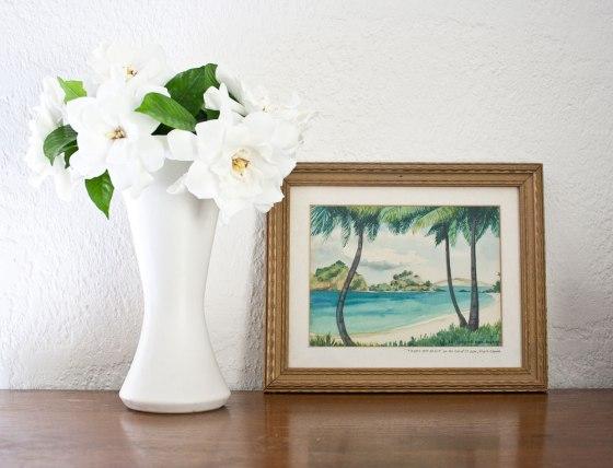Gardenias_WatercolorPainting