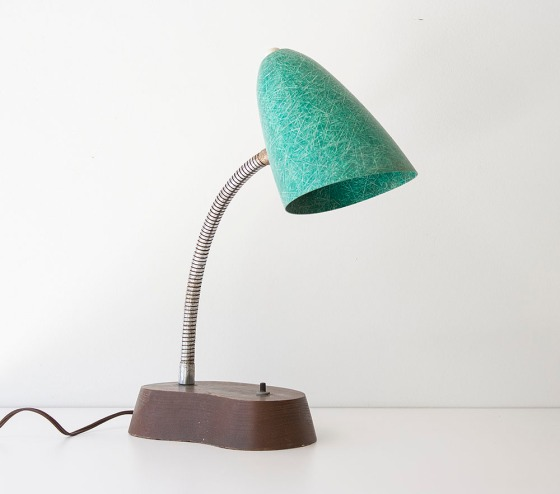 GreenFiberglass_BulletLamp1